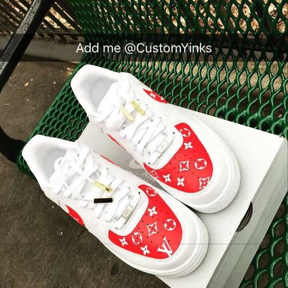 Nike Shoes | Nike Air Force X Lv Custom